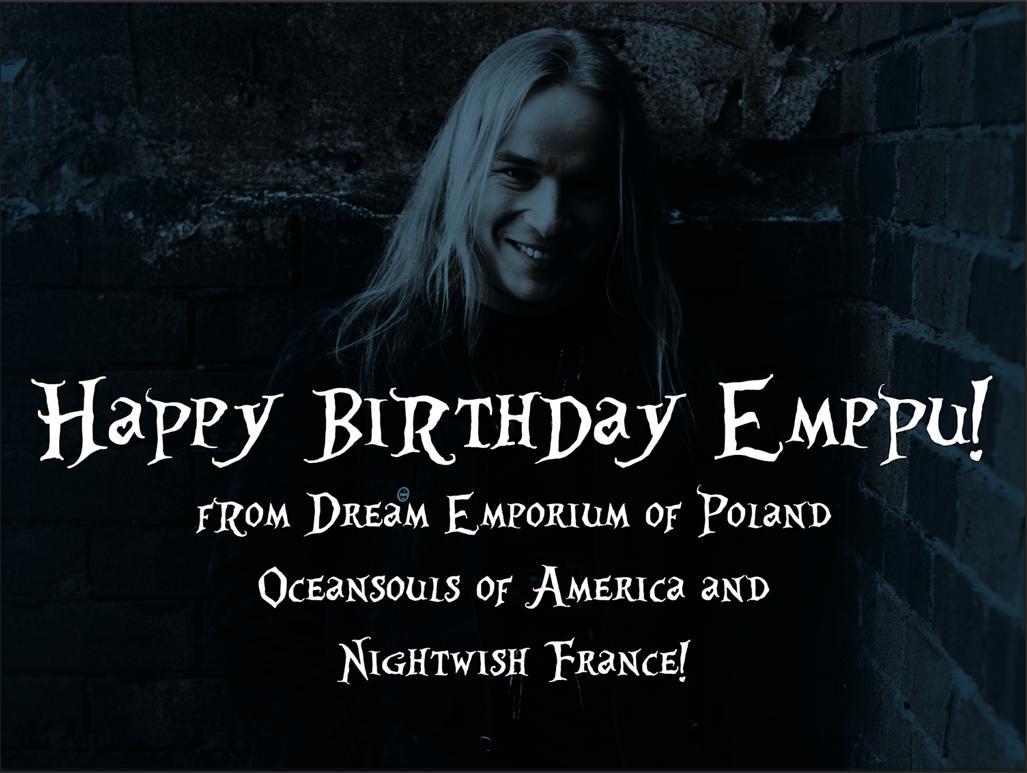 Kartka urodzinowa dla Emppu (2013)