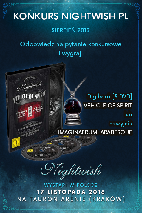Okładka artykułu KONKURS NIGHTWISH PL (SIERPIEŃ)