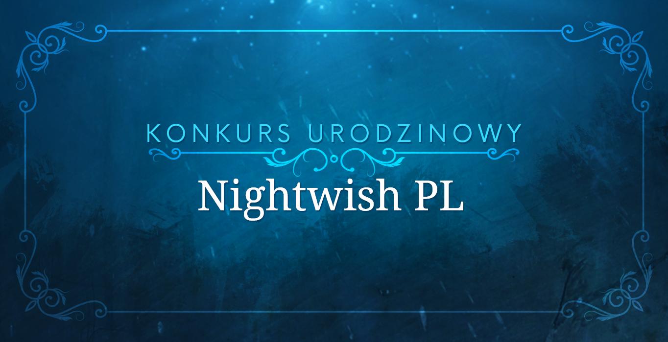 Okładka artykułu Konkursy z okazji urodzin Nightwish PL!