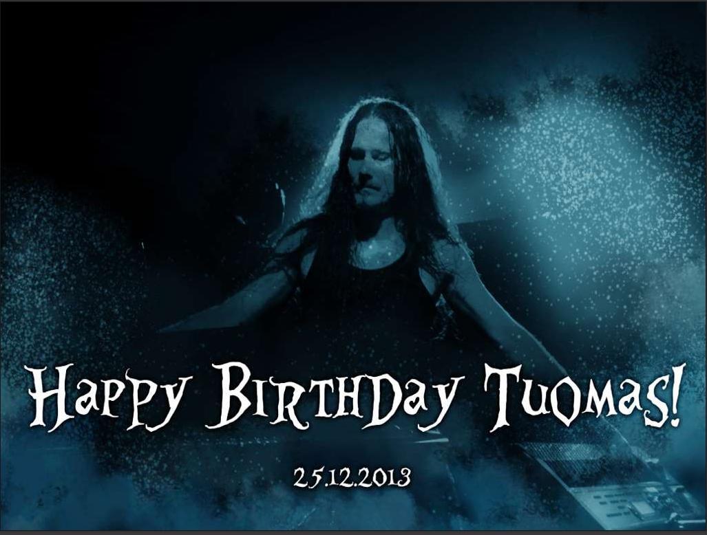 Kartka urodzinowa dla Tuomasa (2013)