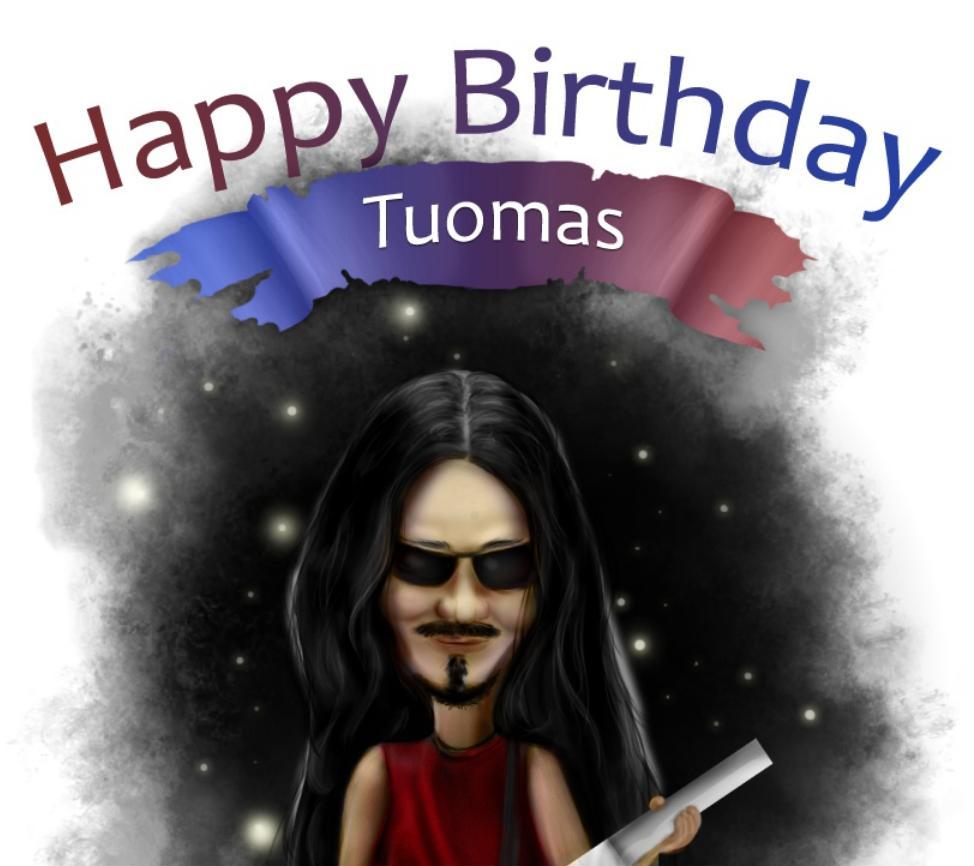Kartka urodzinowa dla Tuomasa (2014)