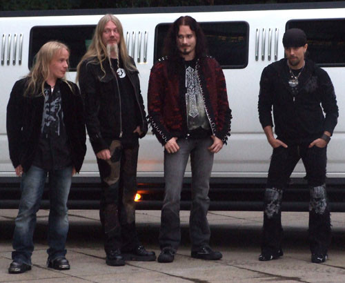 All the boys of Nightwish